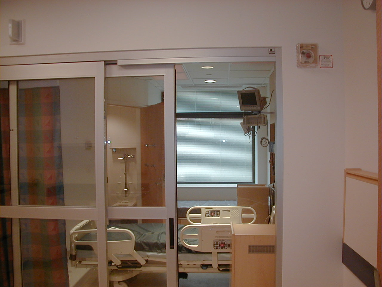 Positive Airflow Hospital Room